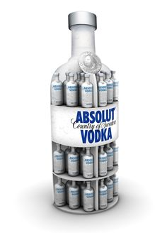 PLV de Absolut Vodka. Fernando Roncero