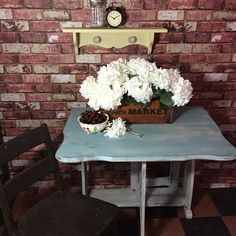 Double Drop Leaf Table $150