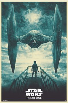 Rogue One print by Karl Fitzgerald