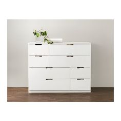 NORDLI 8-drawer dresser IKEA You can use one modular chest of drawers or combine several to get a storage solution that perfectly suits your...