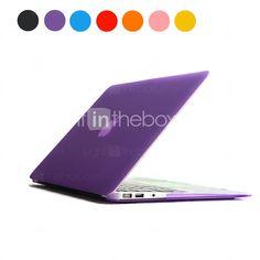 EUR € 13.99 - Solid Color Frosted PC vanskelig sak for MacBook Air 13 (assorterte farger), Gratis Frakt På Alle Gadgets!