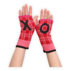X O Recycled USA-made Hand Warmers in Holiday 2012 from Fair Indigo on shop.CatalogSpree.com, my personal digital mall.