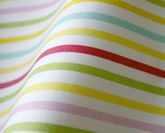 rainbow stripe fabric $8.90/yd