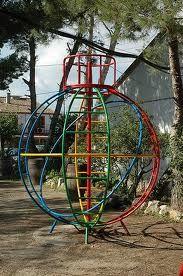 La Bola...en el patio de mi colegio!
