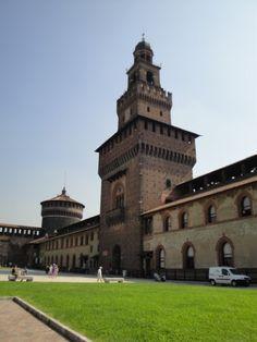 Castello Sforzesco  , #Milan, #Italy