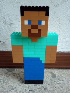 Legosaurus — Lego Minecraft Characters Created by Meufer ...