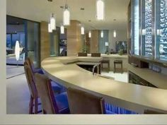 Inside Celebrity Homes: Bill Gates Mansion Tour Hollywood Hills, Inside Celebrity Homes, Celebrity Houses, Modern Mansion Interior, Interior Architecture, Jacuzzi, Home Design, Interior Design, Bill Gates's House