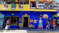 The little village of Sayulita, Mexico, offers a festive atmosphere and is a short drive from the Punta Mita area. Photo by Daniel A. Anderson