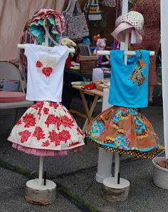 clothing display for craft show displays flea markets shops and more