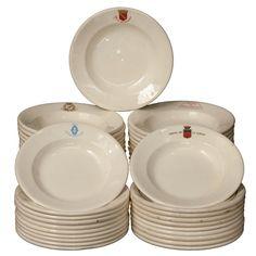 French Porcelain Hospital Bowls