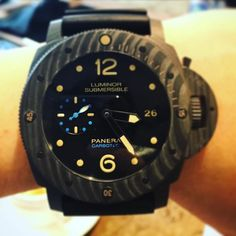 #pam616 #watchs #watch #watchesofinstagram #watchfam #watchporn #panerai #paneraicentral #panerailuminor #paneraisubmersible #watchout #watchfimly#luminor #watch#submersible #panerai沛納海 by shermanho #panerai