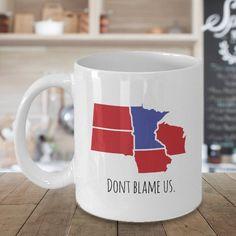 Buffalo Bills 15oz Blast Accent Ceramic Mug
