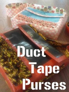 Take it on Tuesday blog hop #28: Duct Tape Purses - Romance on a Dime