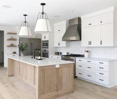 Kitchen style and kitchen ideas for several of the dream kitchen needs. Modern kitchen idea at its finest. Home Decor Kitchen, Kitchen Furniture, New Kitchen, Kitchen Ideas, Kitchen Inspiration, Kitchen Designs, Awesome Kitchen, Kitchen Hacks, Wood Furniture