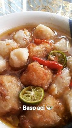 Baso Aci kuah pedas ala Nissa 🍜 K Food, Love Food, All U Can Eat, Cant Stop Eating, Pasta Dinner Recipes, Snap Food, Malaysian Food, Indonesian Food, Aesthetic Food