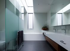 Bathroom / Ensuite - contemporary - bathroom - melbourne - Steve Domoney Architecture