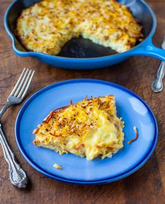 Creamy and Crispy Hash Browns Frittata | 25 Delicious Ways To Eat Eggs For Dinner