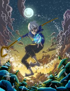 Fan Art: Jack Frost by SemajZ.deviantart.com on @deviantART