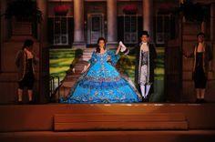 Alejandra Gutierrez and Joe Benavides Society of Martha Washington Colonial Pageant and Ball in Laredo, Texas