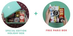 Start a Try The World subscription today and receive a Spain Box, and an additional FREE Paris box. Receive international gourmet products in a box.