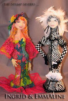 Stump Sister cloth doll pattern