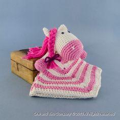 Pony Security Blanket Crochet Pattern Kaitlyn here is the last for now thank u and by the way same colors!! ;)