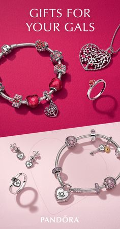 The best gifts are ones from the heart. Surprise your best gals this Valentine's Day with styles from the NEW PANDORA collection, or grab yourself something special to wear for a night out on the town.