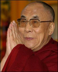 Dalai Lama will be here in a couple of weeks (May 19 & 20), can not wait to hear him speak in Louisville.