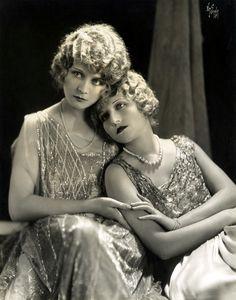 I love the way 1920s portraits were lit.