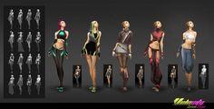 Costume Designs - Velocity by EsbenLash