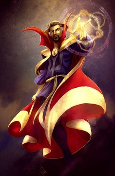 Dr. Strange by Forty-Fathoms on DeviantArt