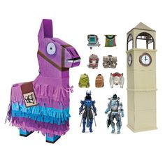 Do you love unboxing and do you love Fortenite? - Then this Pinata is perfect for you! The Fortnite Jumbo Llama Loot Piñata is bursting open with 100 piec… Design Your Own Sneakers, Armadura Cosplay, Harvesting Tools, Brand Stickers, Fnaf Wallpapers, Ice King, Toys Uk, Barbie Toys, Christmas Delivery