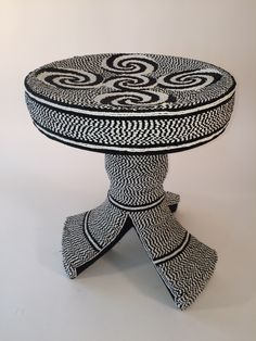 Cameroonian Stool. Found in Cameroon, 2009. From the Collection of Christopher Burns.