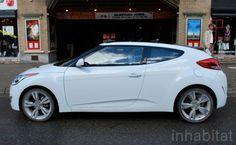 Futuristic Hyundai Veloster Coupe