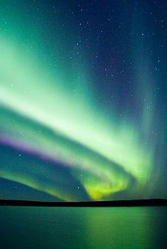 Night skies of Rovaniemi.