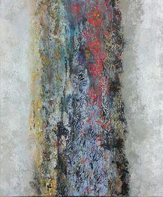Tarja Ollas - Abstract Paintings:  Acrylic on canvas 100 x 120 cm. 2017.
