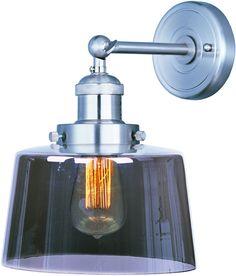 Maxim Lighting 25069MSKSN/BUI Mini Hi-Bay 1-Light Wall Sconce W/Bulb