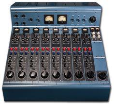 Tree Audio's 500 series tube recording console