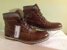 32f9bf294fe5d New SONOMA Goods for Life Watkins Men's Casual Tan Ankle Boots Sz 13M  Retail $90