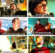 Scotty; my 2nd favorite Star Trek character. Sorry Simon, i love ya but my heart belongs to Bones! :)