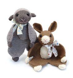 Flat Foot Floogie - PDF Knitting Pattern for Animal Lovey. $2.99, via Etsy.