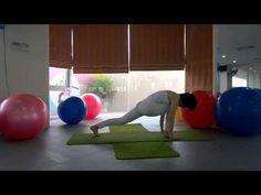 YOGA Bài tập yoga giảm mỡ bụng siêu tốc part 2 - YouTube