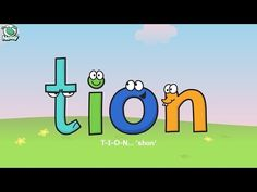 Learning Phonics: Nessy - 'tion' 'sion' 'cian' http://learningphonics.blogspot.com