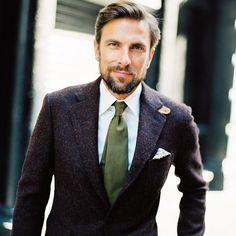 Tweed / Couleurs / Cravate