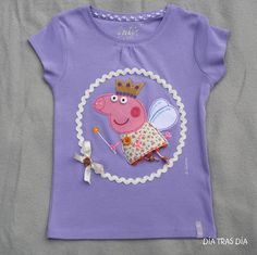 Peppa Pig T-Shirt for the birthday girl at a Peppa Pig Party Peppa Pig, Amelia Rose, Pig Party, Girl Birthday, T Shirts For Women, Crochet, Ariel, Party Ideas, Fashion
