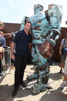 Idol and perfect movie Perfect Movie, Love Movie, I Movie, Hugh Jackman Images, Hugh Wolverine, Fighting Robots, Real Steel, Steel Art, Amazing Spiderman