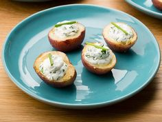 Baby Potatoes with Creamy Goat Cheese and Fine Herbs #UltimateComfortFood