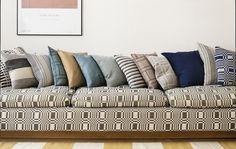 Johanna Gullichsen offers a range of woven textiles for modern living.