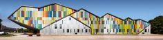 Gesamtansicht der MWD Akademie in Dilbeek