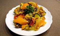 Aromatische Gemüse-Hirsepfanne -> https://www.zentrum-der-gesundheit.de/rezept-hirse-mit-gemuese.html #gesundheit #ernaehrung #rezept #vegan #hirse